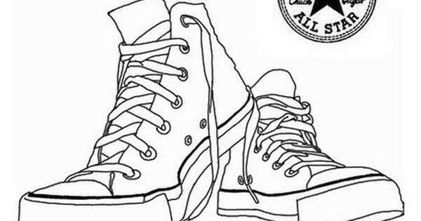 Converse Shoes Coloring Pages Converse Shoe Poster Shoes Wallpaper