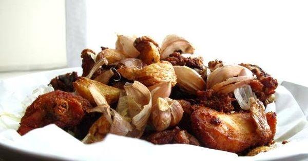 Ayam Goreng Bawang Putih Beratnya Perjuangan Membuat Ayam Goreng Idaman Ayam Goreng Makan Malam Resep Makanan