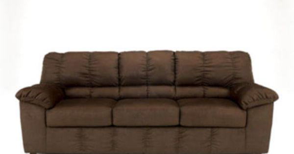 Chocolate Micro Fiber Sofa At Menards Couch Pinterest