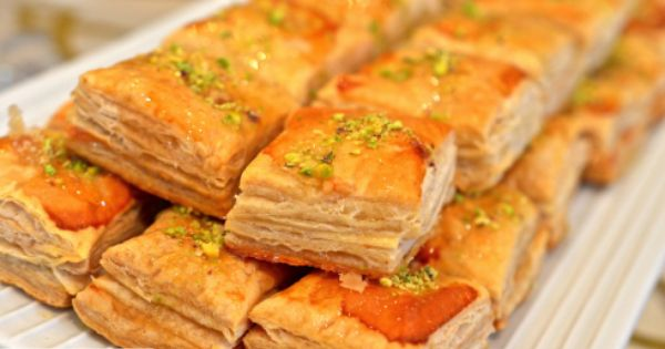 Puff Pastry حلو البف بيستري السهل السريع Puff Pastry Desserts Puff Pastry Pastry