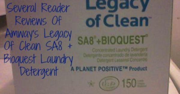 Sa8 Laundry Detergent From Amway Reviews Is It Any Good