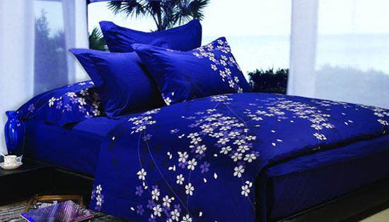 Dark Blue And Purple Bedding Sets Royal Bedroom