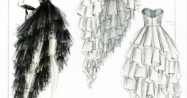 Fashion Design Sketches | Fashion design sketches | 108 : Image Gallery