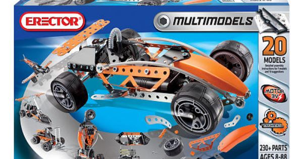 Best Meccano Sets And Toys For Kids : Meccano erector multimodels models set toys