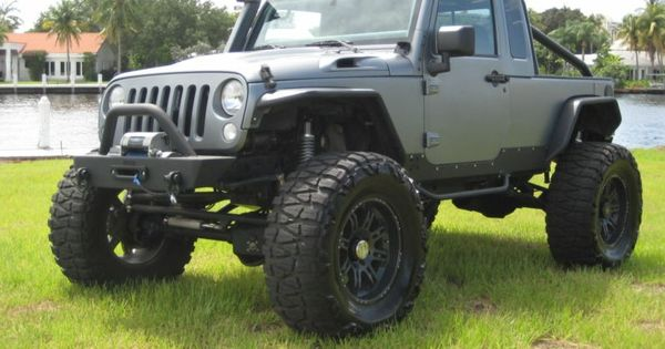 Expo Jeep Jk With Jk8 Conversion On 40s With A Hemi Offroad