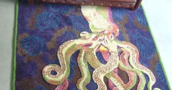 Octopus Rug Octopi Pinterest Awesome Offices And