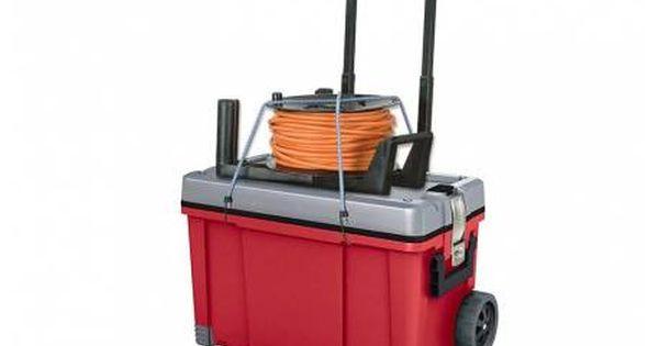 Skrzynka Narzedziowa Na Kolkach Keter Hawk Cart 25 Tool Storage Diy Tool Storage Tool Box