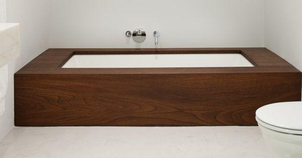 Lovely The Bathtub Has A Custom Mahogany Surround. Photo: Bruce Buck For The New  York Times | Bathrooms | Pinterest | House Worth, House And Bath