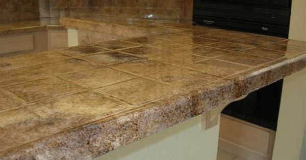 Pin By Michelle Torok On Windi S Dream Home Tile Countertops Tile Countertops Kitchen Countertops