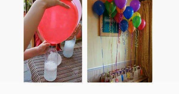 Como encher bal es em casa substituindo o g s h lio - Llenar globos con helio ...