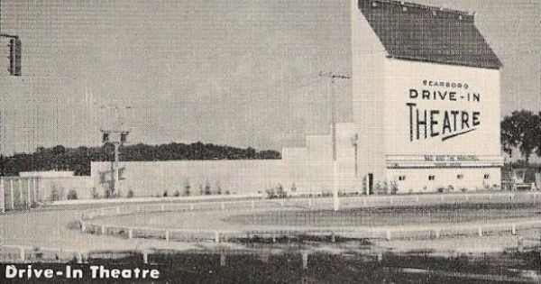 Scarboro Drive In Theatre C1952 Drive In Theater Drive In Movie Theater Old Toronto