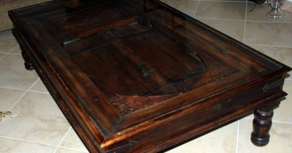 1000 aed beautiful antique door coffee table uae for Coffee tables uae