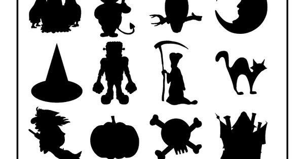 Printable Halloween Templates Printable Halloween Shapes