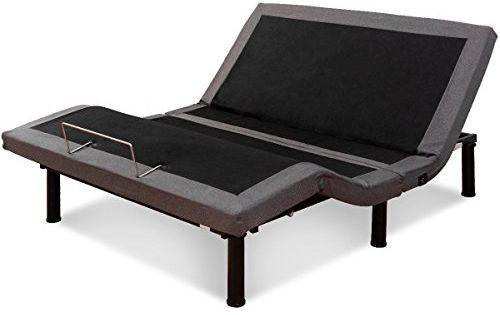 Srivilize888 Adjustable Massage Bed Base Black Wireless Remote