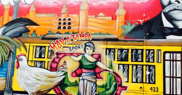 Mural in ybor city tampa fl by mr my world florida for City of tampa mural