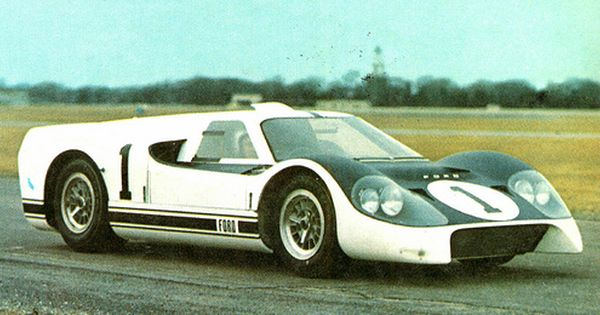 1966 Ford Gt40 J Car In An Effort To Develop A Car With Better