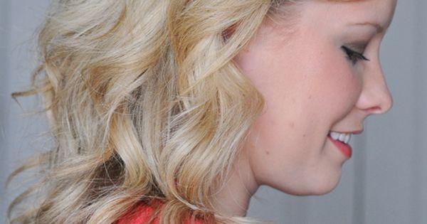 big curls tutorial