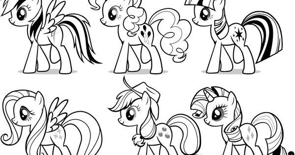 My Little Pony Elements Of Harmony Coloring Pages : The elements of harmony my little pony coloring pages