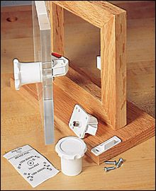 Magnetic Secret Latch Lee Valley Tools Latches Hardware Hidden Compartments Concealment Furniture