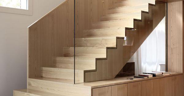 Scala da interni dal design moderno scale di design for Interior wood designs bradenton