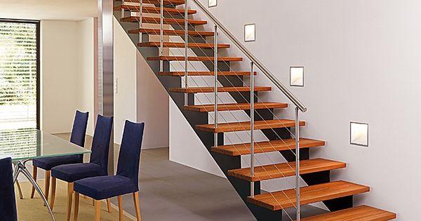 Escaleras metalicas buscar con google flooring - Escaleras de madera para interiores ...
