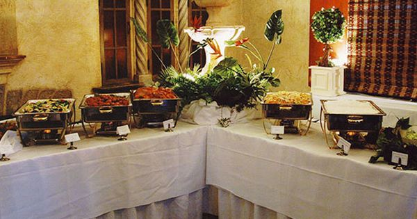 Wedding Catering Buffet Style Parties Retirements