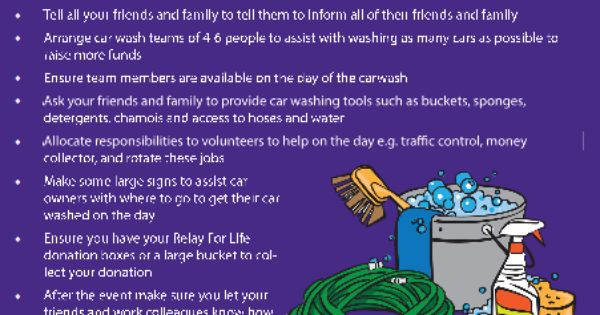relay for life flyer template - car wash relay for life canberra 39 s fundraising ideas