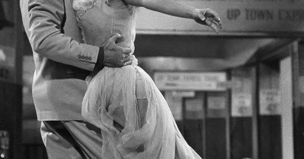 Fred Astaire and Ginger Rogers; they danced so beautifully!