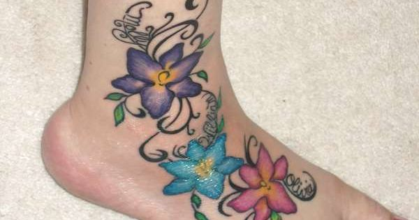 tattoos for women | Awesome Foot Tattoo Designs Pictures Collection Women Feet