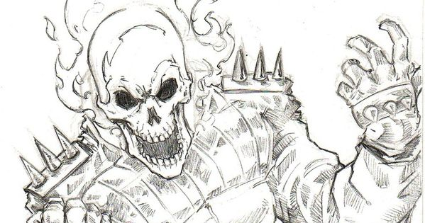 Cool Ghost Rider Coloring Pages Сoloring Pages For All