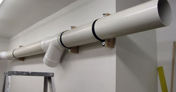Grounding Pvc Dust Collection Systems Woodshop