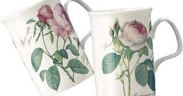Heim Concept Roy Kirkham Lancaster Bone China Coffee Mug Set Mugs Set Mugs China Mugs