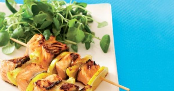 ... | Main Dishes | Pinterest | Salmon Skewers, Skewers and Salmon