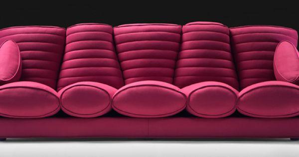 ultra modern sofa from italian furniture house meritalia