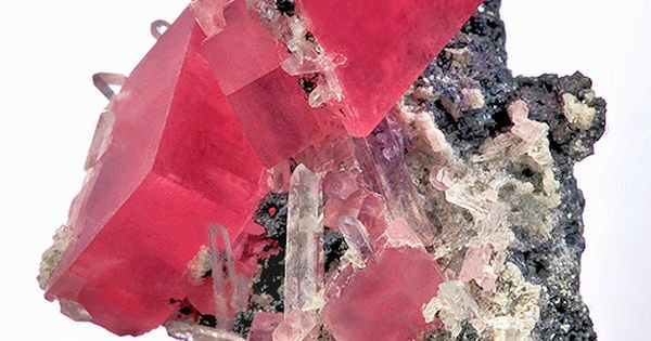 EXCEPTIONAL Rhodochrosite with Quartz :: From the Sweet Home Mine, Alma, Park