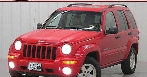 Ebay Jeep Liberty Limited One Owner Small Suv 3 7l V6 Gas Saver