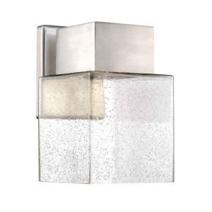 Home Decorators Collection Essex Brushed Nickel Outdoor Led