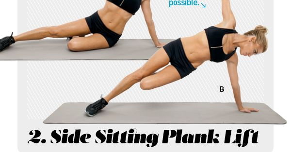 core w/ plank moves