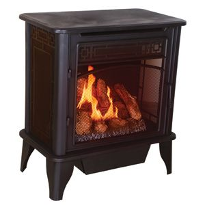 Lancaster Vent Free Gas Stove Gsd4400 For Until The Day I Have A Real Fireplace Lol With Images Propane Gas Stove Gas Stove Vent Free Gas Fireplace