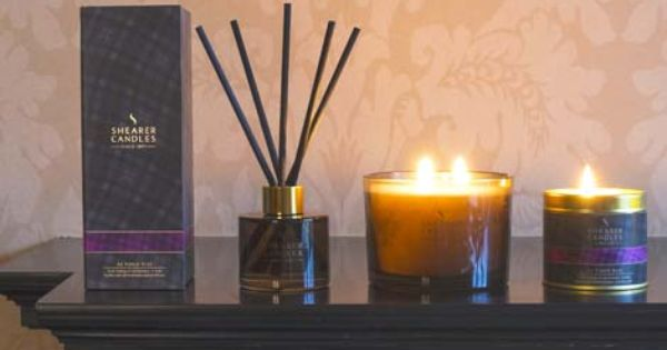 Ae Fond Kiss Scented Candles As Beautiful Tartan Gifts Scottish
