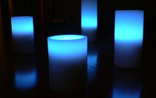 These flameless, color-changing candles. | Trippy, Stoner ...