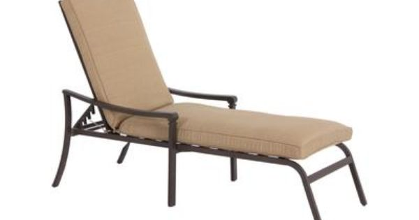Martha stewart living fiori adjustable chaise lounge for Chaise 0 gravite canadian tire