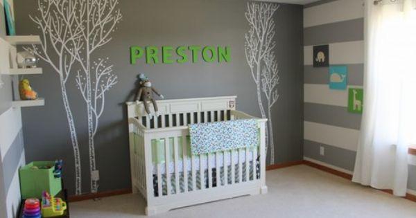 Chambres de b b un peu d 39 inspiration pour les futures mamans ambiance grise baby room for Ambiance chambre enfant
