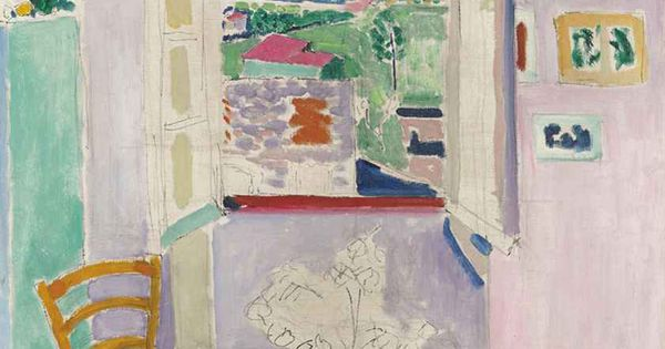 Henri matisse on pinterest for Henri matisse fenetre ouverte