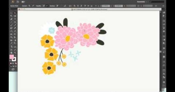 Black Outlined Artwork In Illustrator Video Tutorial