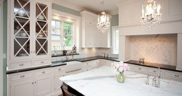 White Hutch Kitchen Cabinet Doors And Cabinet Doors On Pinterest