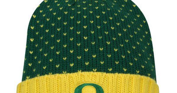 wholesale dealer e7c2b a3cc4 Women s Nike Green Oregon Ducks Local DNA Cuffed Knit Hat   Oregon ducks,  Oregon and Knit hats