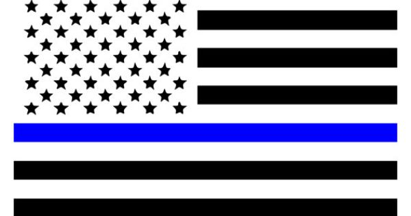 law enforcement flags