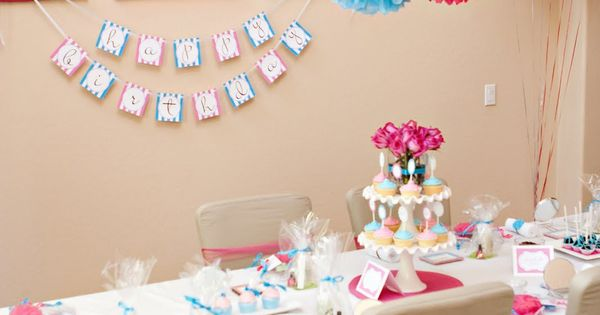 Spa Birthday Party Ideas | Sweet Spa Party Decor