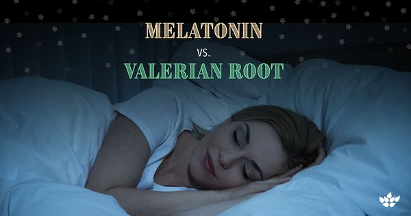 melatonin vs valerian